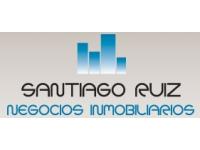 logo INMOBILIARIA SANTIAGO RUIZ NEGOCIOS INMOBILIARIOS
