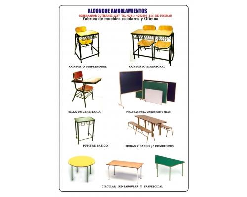 Alconche Amoblamientos Muebles Escolares En San Miguel
