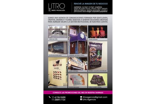 Galeria de imagenes de Litro- Agencia de Diseño y Producción