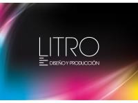 logo Litro- Agencia de Diseño y Producción