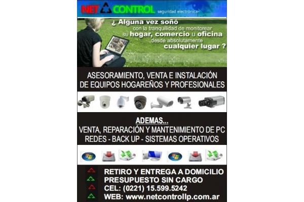Galeria de imagenes de Net Control
