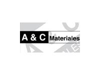 logo A  & C MATERIALES