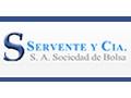 AGENTE DE BOLSA SERVENTE  & CIA